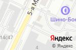 Схема проезда до компании Шино-Бокс в Москве
