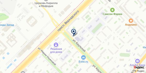 ТФ КАСТАТ на карте Москве