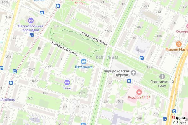 Ремонт телевизоров Коптевский бульвар на яндекс карте
