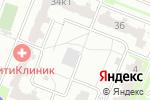 Схема проезда до компании Высшая школа фитнеса и бодибилдинга в Москве