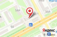 Схема проезда до компании ПростоОбувь в Подольске