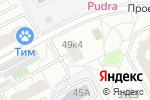 Схема проезда до компании Замки-САО в Москве