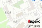 Схема проезда до компании Жилищник района Раменки в Москве