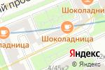 Схема проезда до компании Amtel Properties в Москве