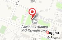 Схема проезда до компании Хрущевская амбулатория в Хрущёво