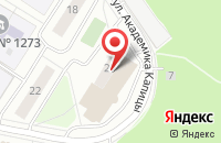 Схема проезда до компании Стройсервис в Москве