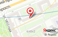 Схема проезда до компании Спектр Путешествий в Москве