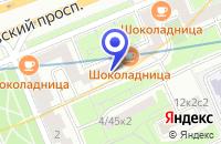 Схема проезда до компании ТД ЮНИОН в Москве