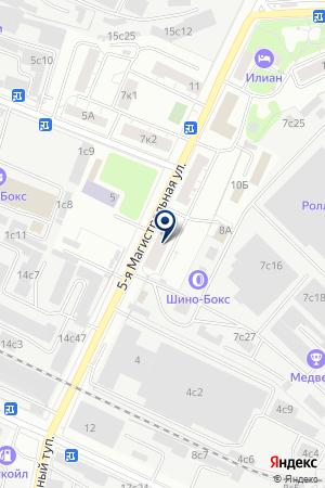 ДЕЗИНФЕКЦИОННАЯ СТАНЦИЯ АТЛАНТ-БИС на карте Истры
