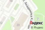 Схема проезда до компании Почтовое отделение №117647 в Москве