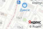 Схема проезда до компании Паризо в Москве