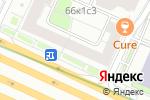 Схема проезда до компании Saas group в Москве