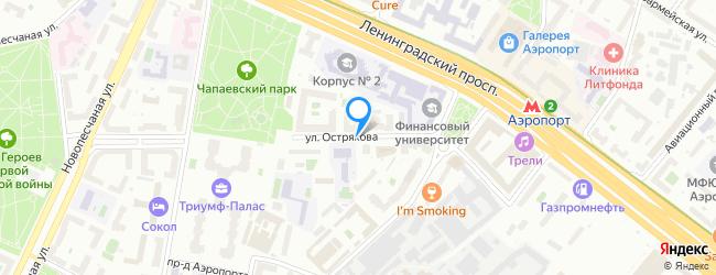 улица Острякова