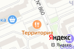 Схема проезда до компании Территория в Москве