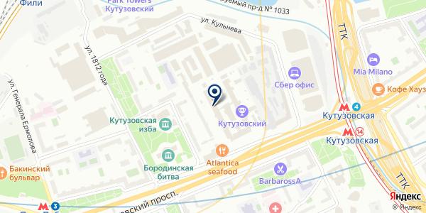 Аудит Эксперт на карте Москве