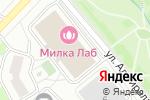 Схема проезда до компании Фитнес Гуру в Москве