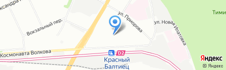 МК-Слифт на карте Москвы