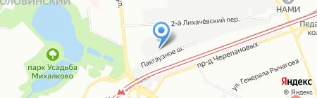Durocem на карте Москвы