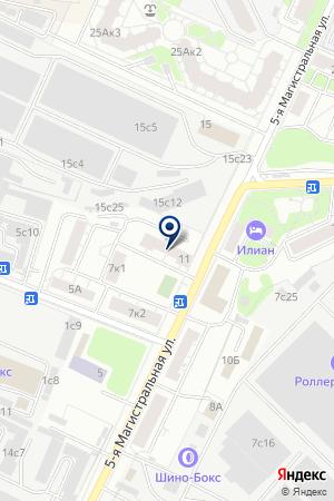 СТИЛ РИНГ-ИНЖИНИРИНГ на карте Истры