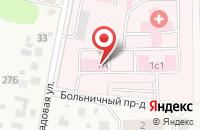 Схема проезда до компании Львовская районная больница в Львовском