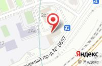 Схема проезда до компании Металлпоставка в Москве