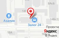Схема проезда до компании Издательский Дом«Бактапа» в Москве