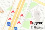 Схема проезда до компании Станция Беляево в Москве