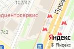 Схема проезда до компании Хит Mobile в Москве