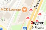 Схема проезда до компании ПО ШВУ в Москве