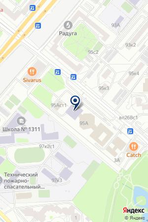 ПРЕДСТАВИТЕЛЬСТВО В МОСКВЕ ТФ LAFRENDS на карте Москвы
