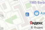 Схема проезда до компании Sowana в Москве