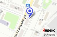 Схема проезда до компании ФИЛИАЛ АКБ ПРЕСНЯ-БАНК в Москве