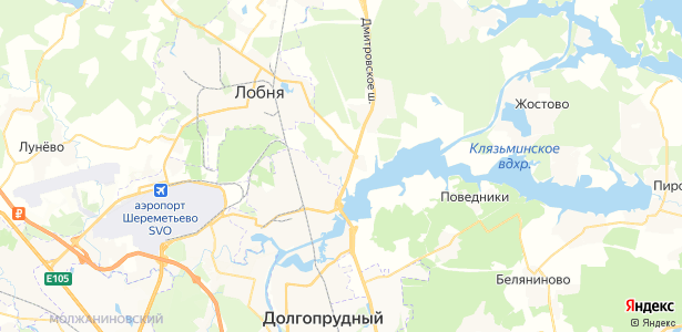Красная Горка на карте