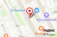 Схема проезда до компании Аудитория Финанс в Москве
