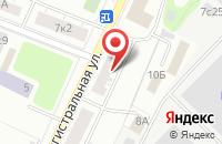 Схема проезда до компании Веллворк в Москве