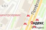 Схема проезда до компании Uv club в Москве