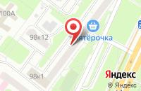 Схема проезда до компании Финаква Плюс в Москве
