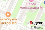 Схема проезда до компании РусьБизнесСтрой в Москве