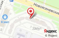 Схема проезда до компании Промбаза №2 в Москве