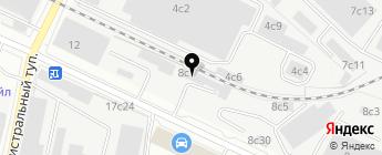 Автотехник-PRO на карте Москвы