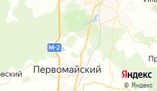 Отели города Ясная Поляна на карте