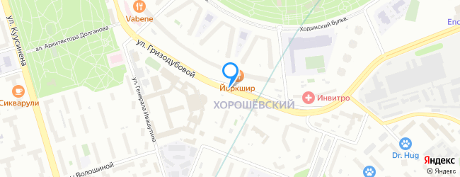 улица Гризодубовой