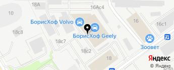INCHCAPE на карте Москвы