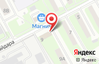 Схема проезда до компании Al`sdeko в Подольске