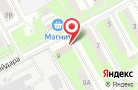 Схема проезда до компании На Гайдара в Подольске