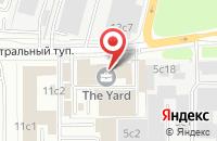 Схема проезда до компании ПромСтройМонтаж в Москве