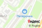 Схема проезда до компании Юмакс в Москве