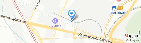 ЯнМоторс на карте Москвы