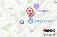 Схема проезда до компании Спецтехсервис в Москве