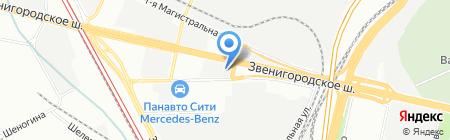 Вардис на карте Москвы